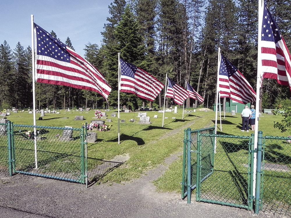 Flags at Grangemont