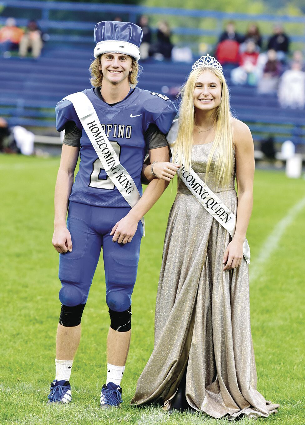 OHS Homecoming King and Queen