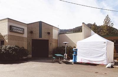 CVH Screening Tent