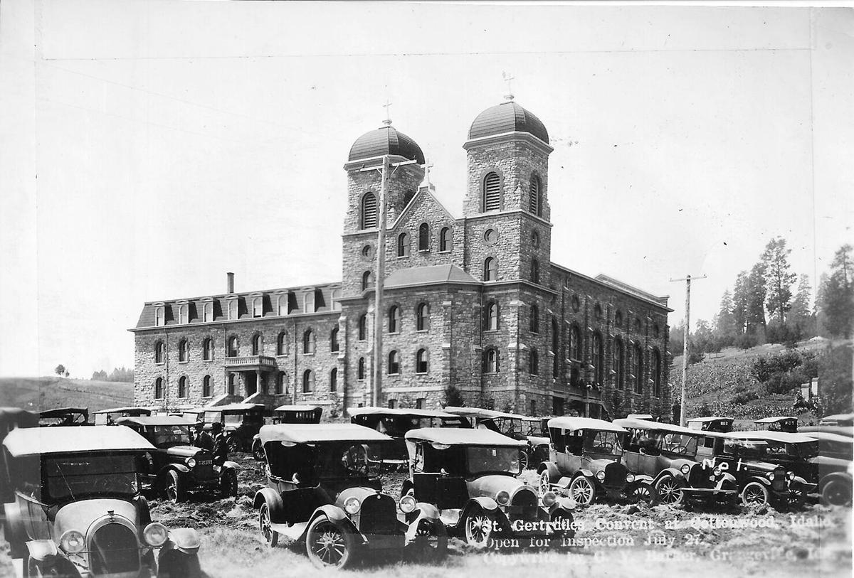 Celebrating the centennial--St. Gertrude's 1924