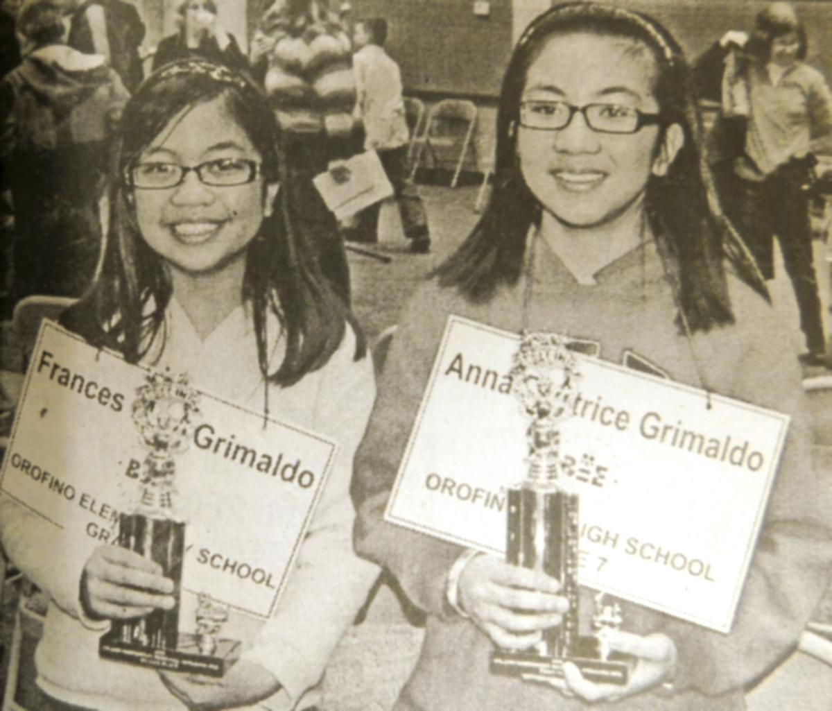 Down Memory Lane - Grimaldo girls