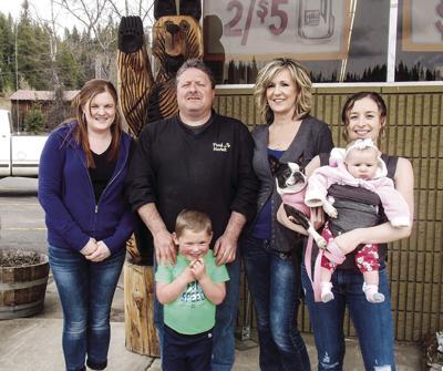 Fabian and Shelley McFeron family