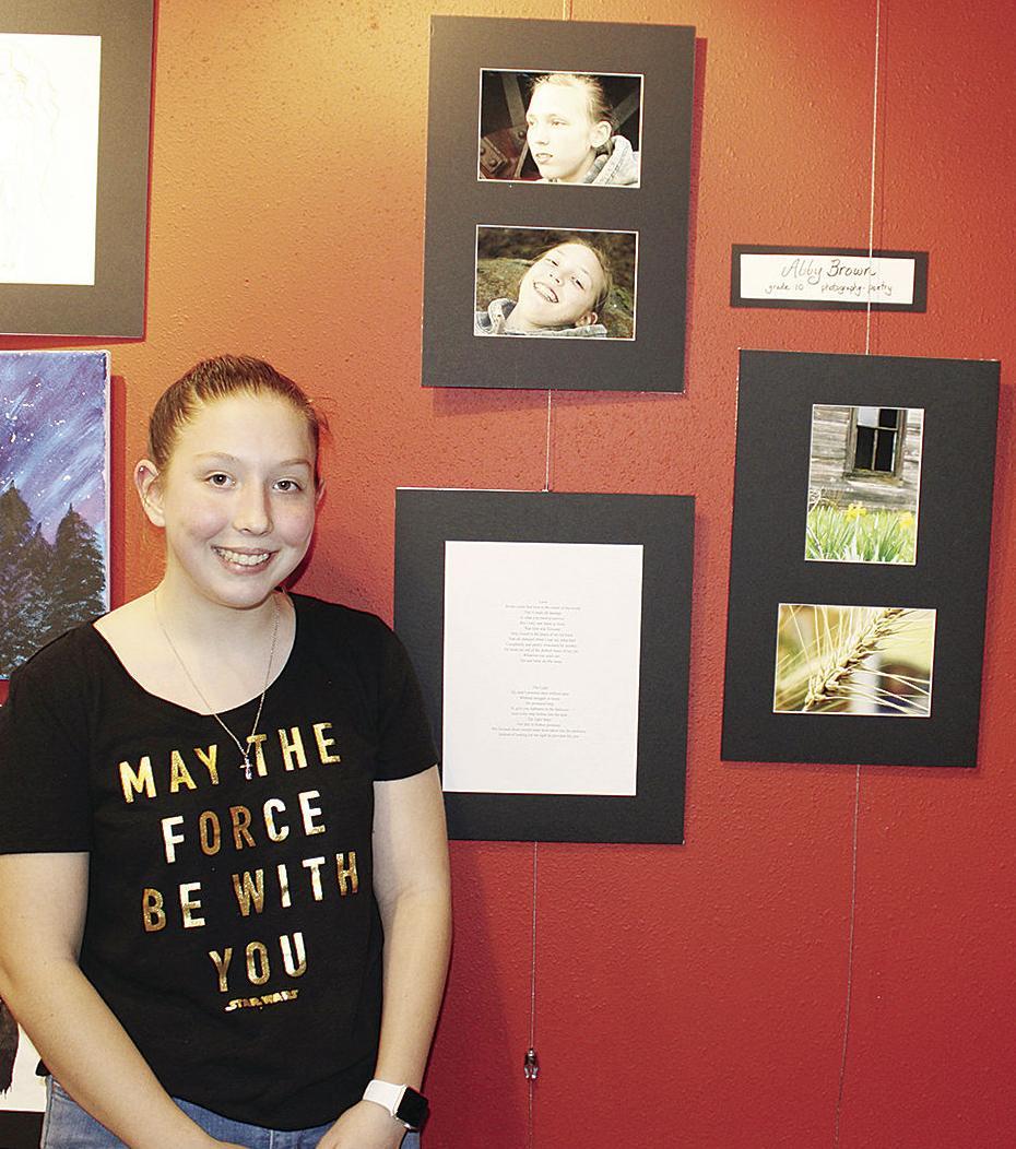 THS art show - Abby Brown