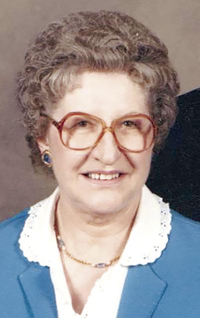 Obit Agnes Ricks
