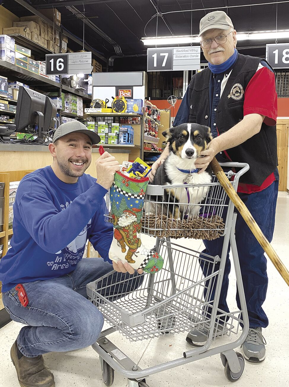 OBS Dog stocking winner