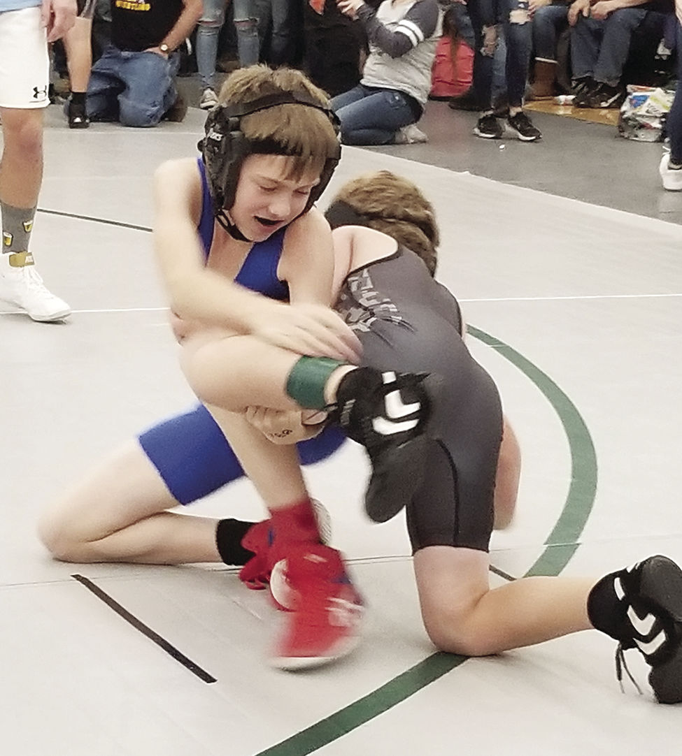 OHS Wrestling - Gage Summers