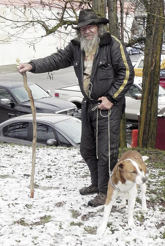 Savvy Senior - Claffey with dog