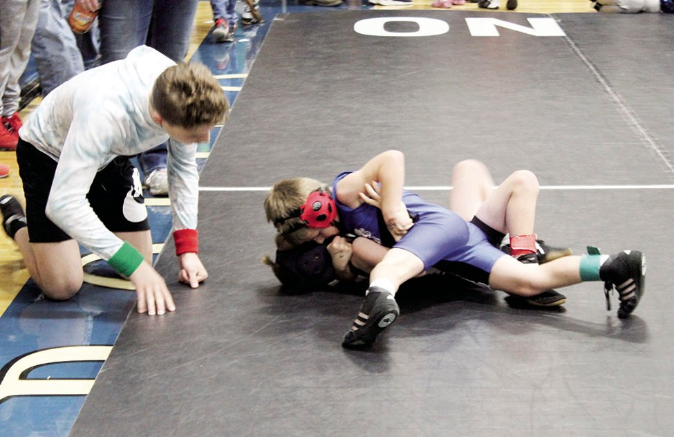 OHS Wrestling A J Waters