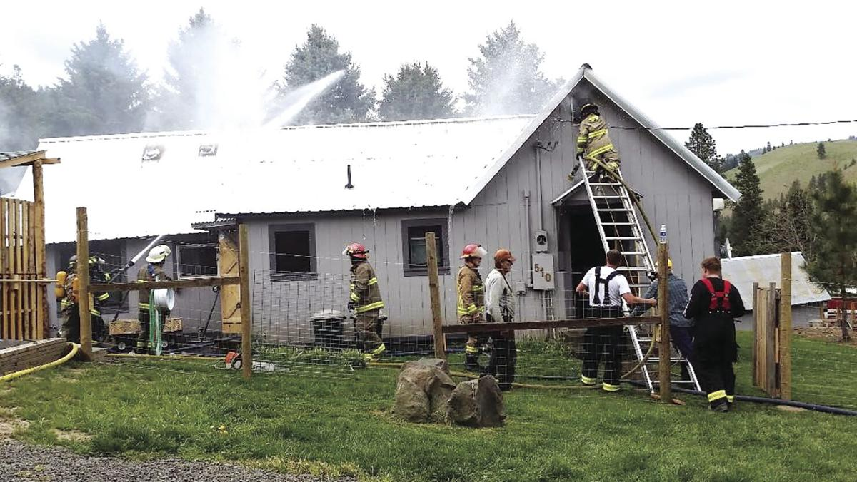 Peck house fire 2