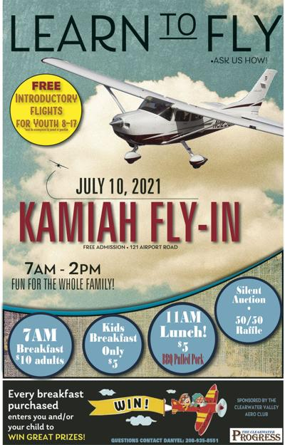 2021 Kamiah Fly-In Poster