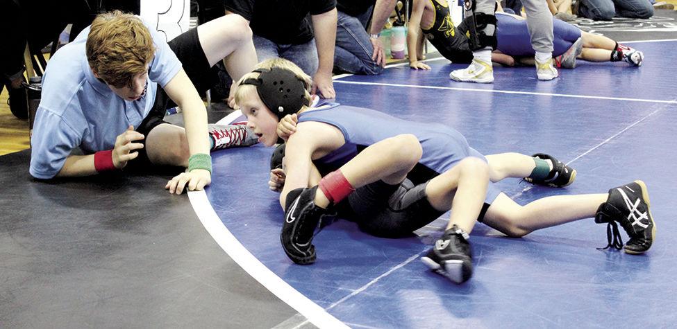 OHS Wrestling Blake Bushey
