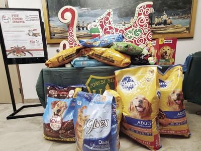 Forest Service pet food donations