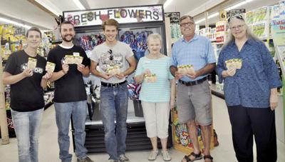 Orofino Kiwanis Club grocery giveaway