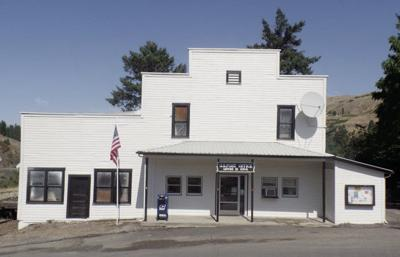 Post Office renovation at Lenore