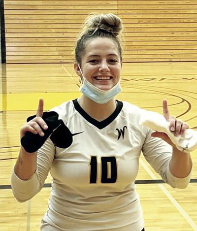 (sports) Hayley Bretz Walla Walla First Team