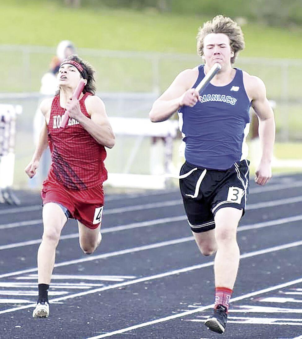 (sports) Track--Reid Thomas