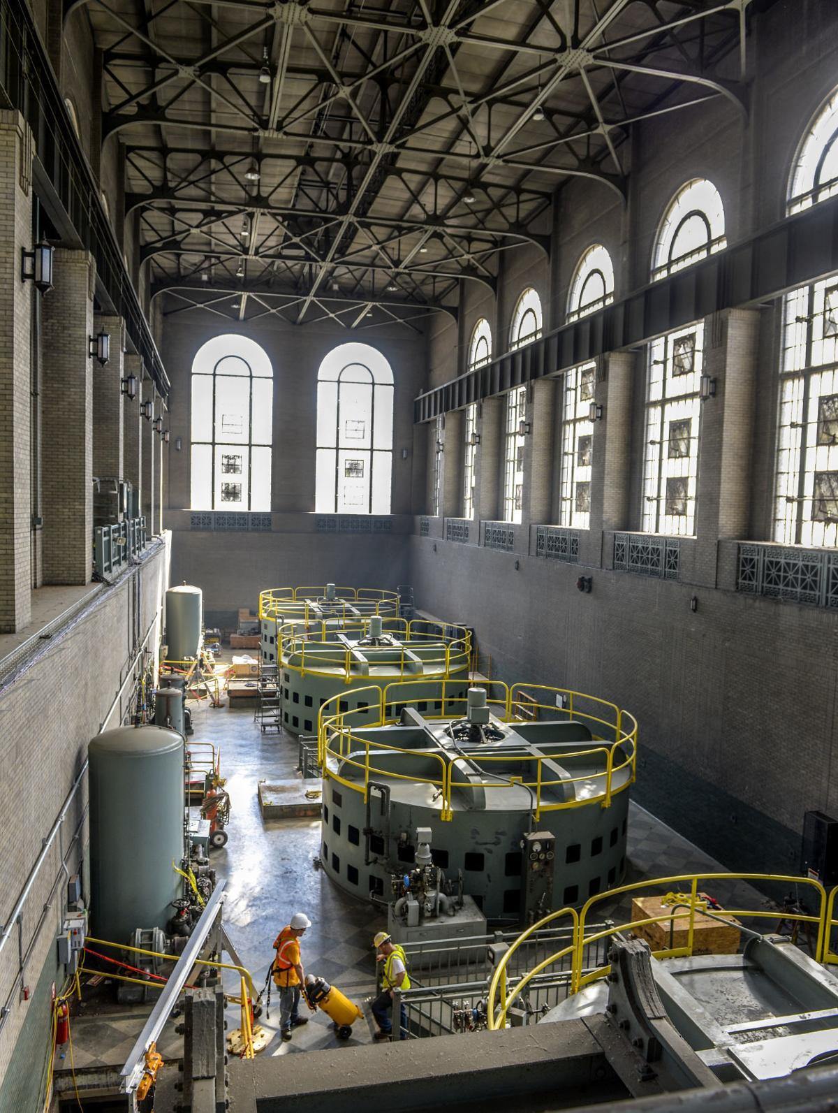 Hawks Nest Dam & Power Station
