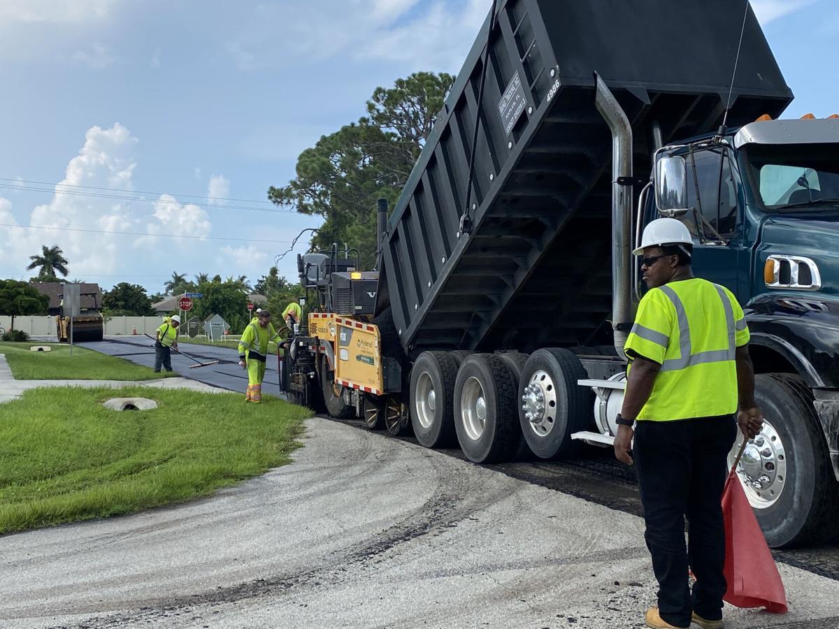 Road Repaving Ahead of School Opening