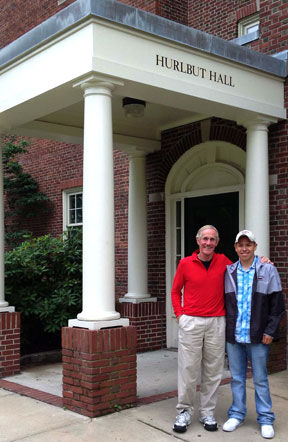 Don-O_Neill-and-Alex-Galvan-in-front-of-Hurlbut-Hall.jpg