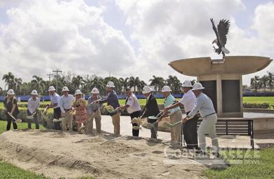 Work on Veterans' Community Park Commences