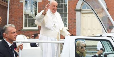 Local, National Park Rangers Work the Pope's Visit