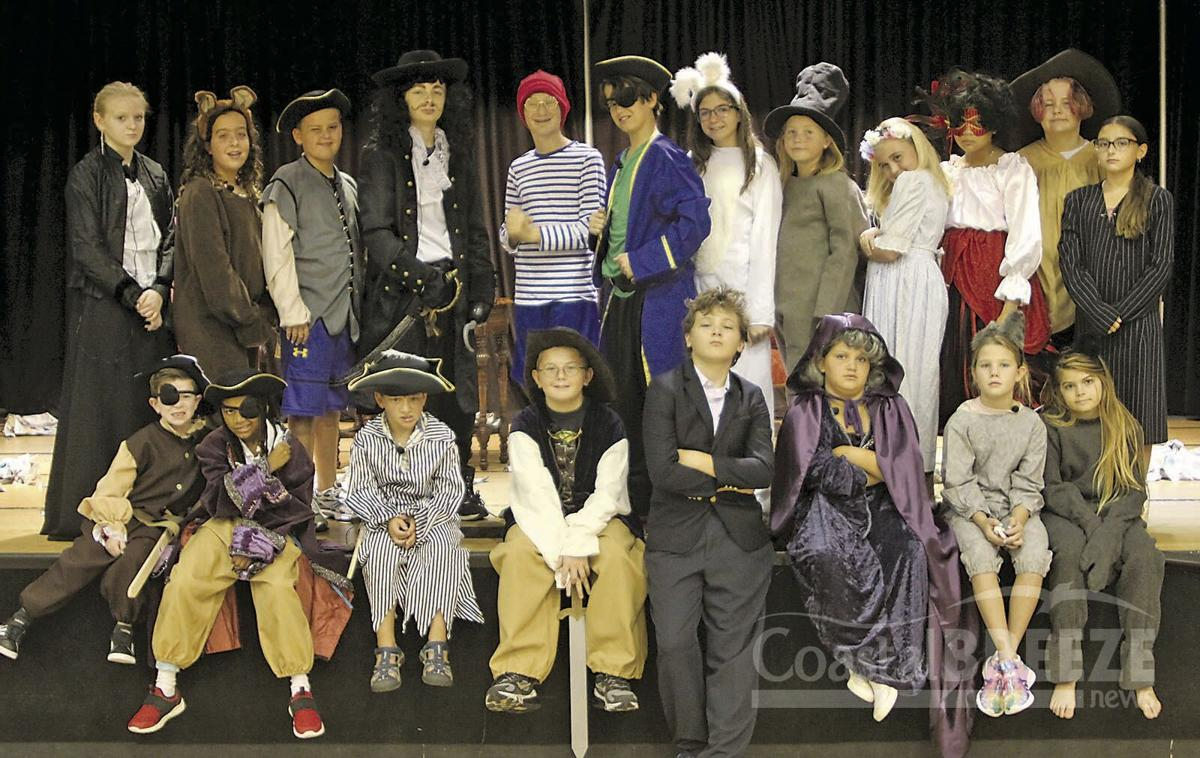 Young Actors Sparkle  5. Cast members provide some appropriate attitude for a group shot.jpg