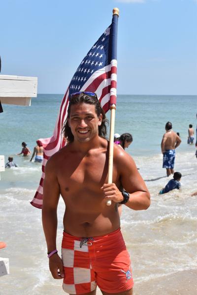 BBP lifeguard Justin Kidwell