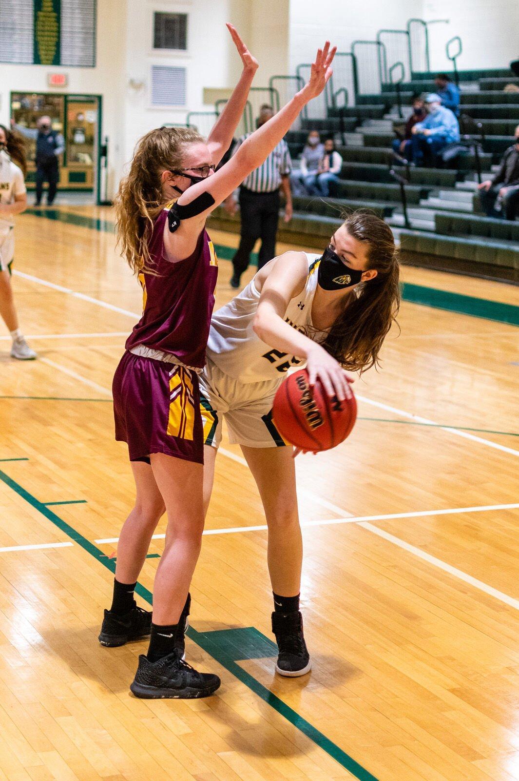 IRHS Girls' Basketball vs. Milford - Faith Predeoux-SLam-5157.jpg