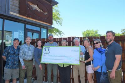 Dogfish James Farm donation.jpg