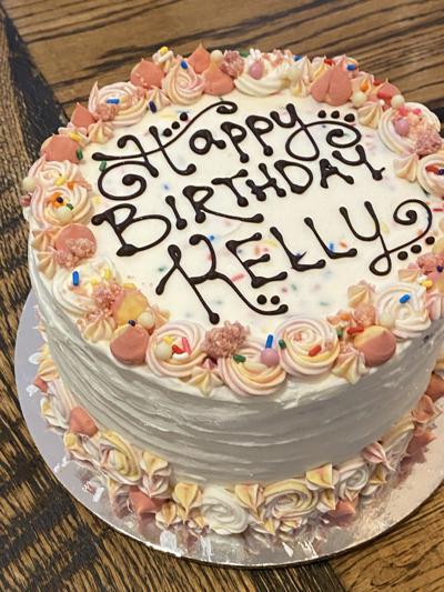 SoDel personalized cake