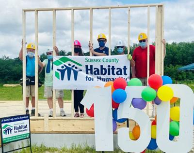 Habitat's 150th house