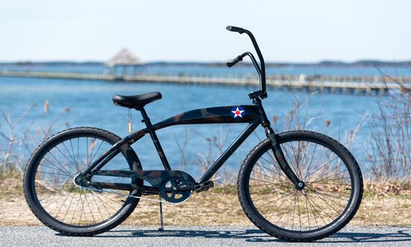 Marine Corps League bike ride