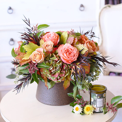Holiday cut flowers