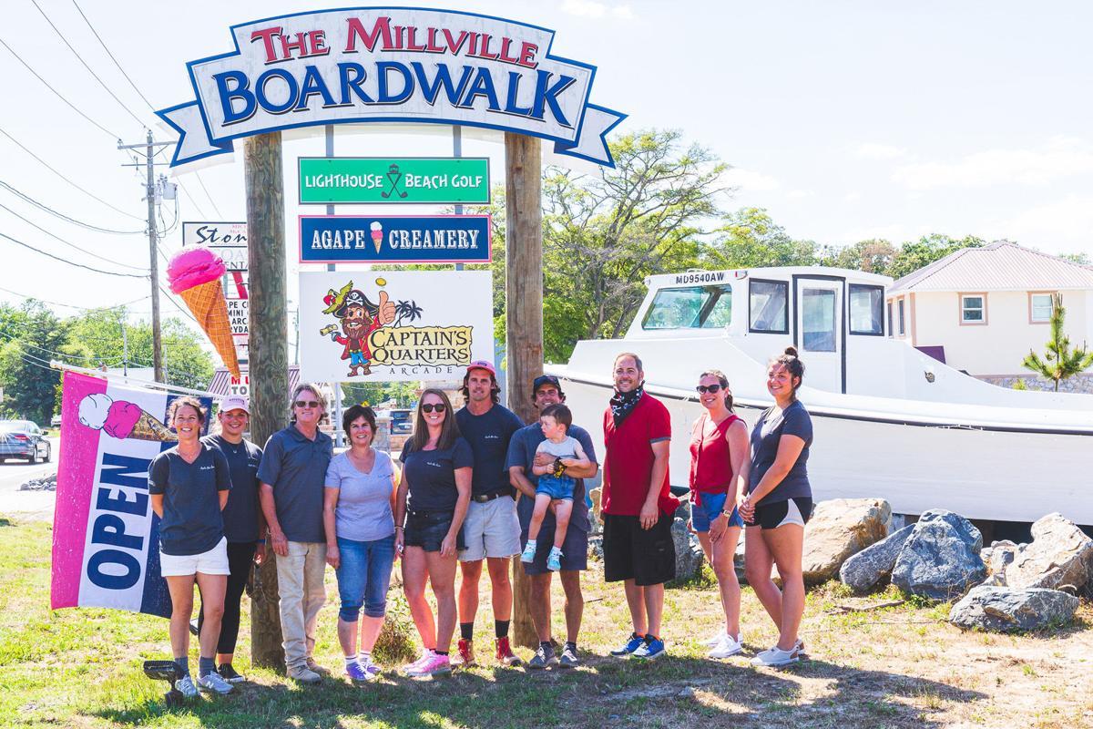 Millville Boardwalk holds grand-opening