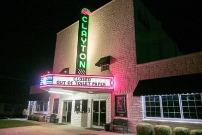 Clayton Theatre closed