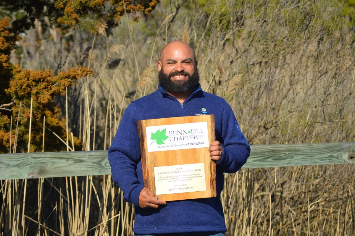 Matt Romano, Arborist of the Year