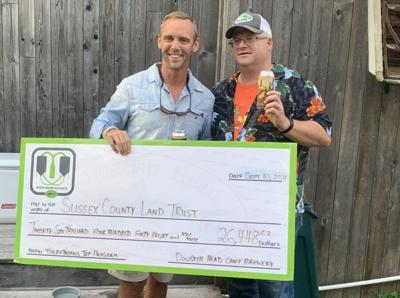 Beer & Benevolence donates to Sussex County Land Trust