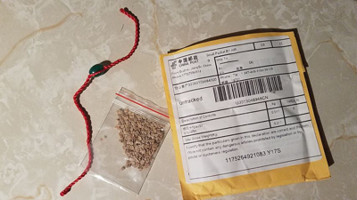 Seeds received
