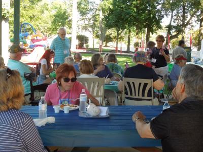 South Coastal Village Volunteers picnic