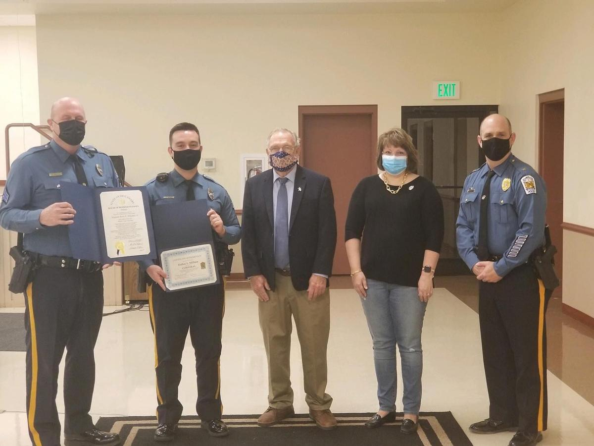 Millsboro PD Wheatley award and Millner promotion to cpl.jpg