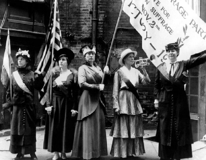 Members of the Woman's National Party