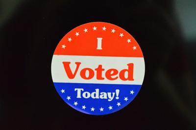 I Voted Today 4 sticker 2020