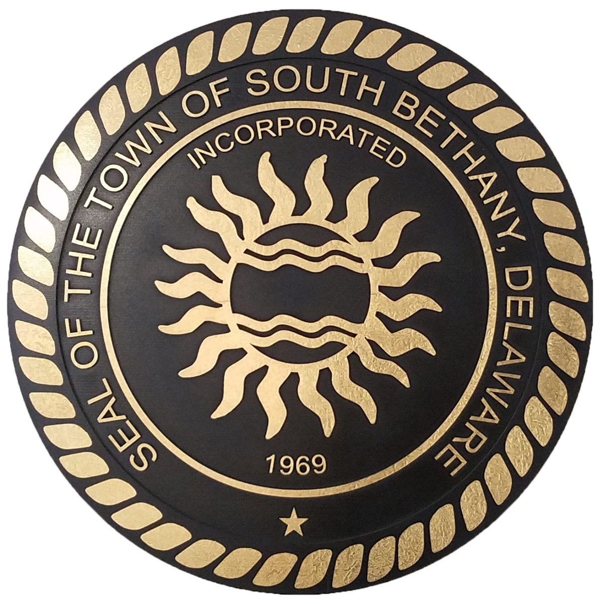 Seal of the Town of South Bethany, Delaware