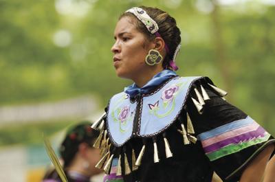 Nanticoke Indian Powwow dancer