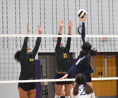 IR girls' volleyball