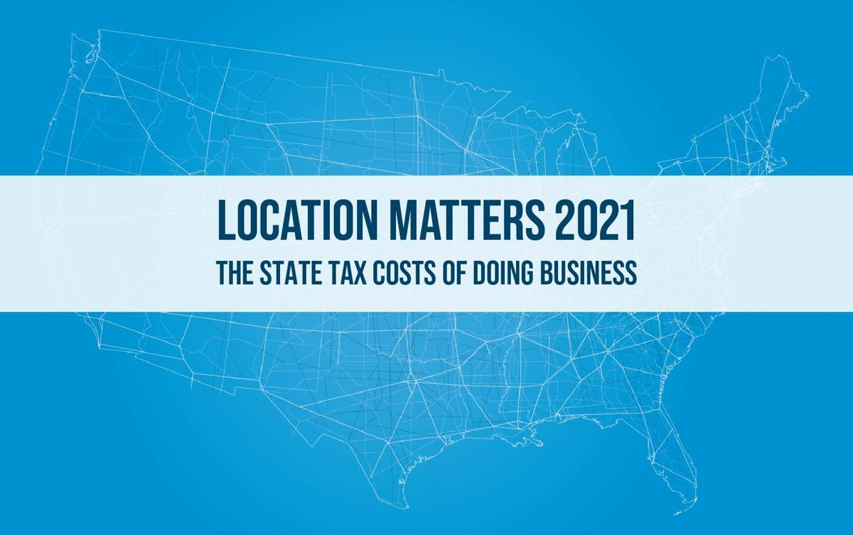 Location Matters report on corporate tax favorability