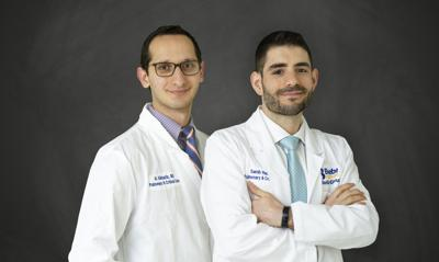 Dr. Ala Alkhatib and Dr. Samih Raad, Beebe Pulmonary Associates