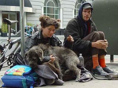Homeless couple (via ACLU)