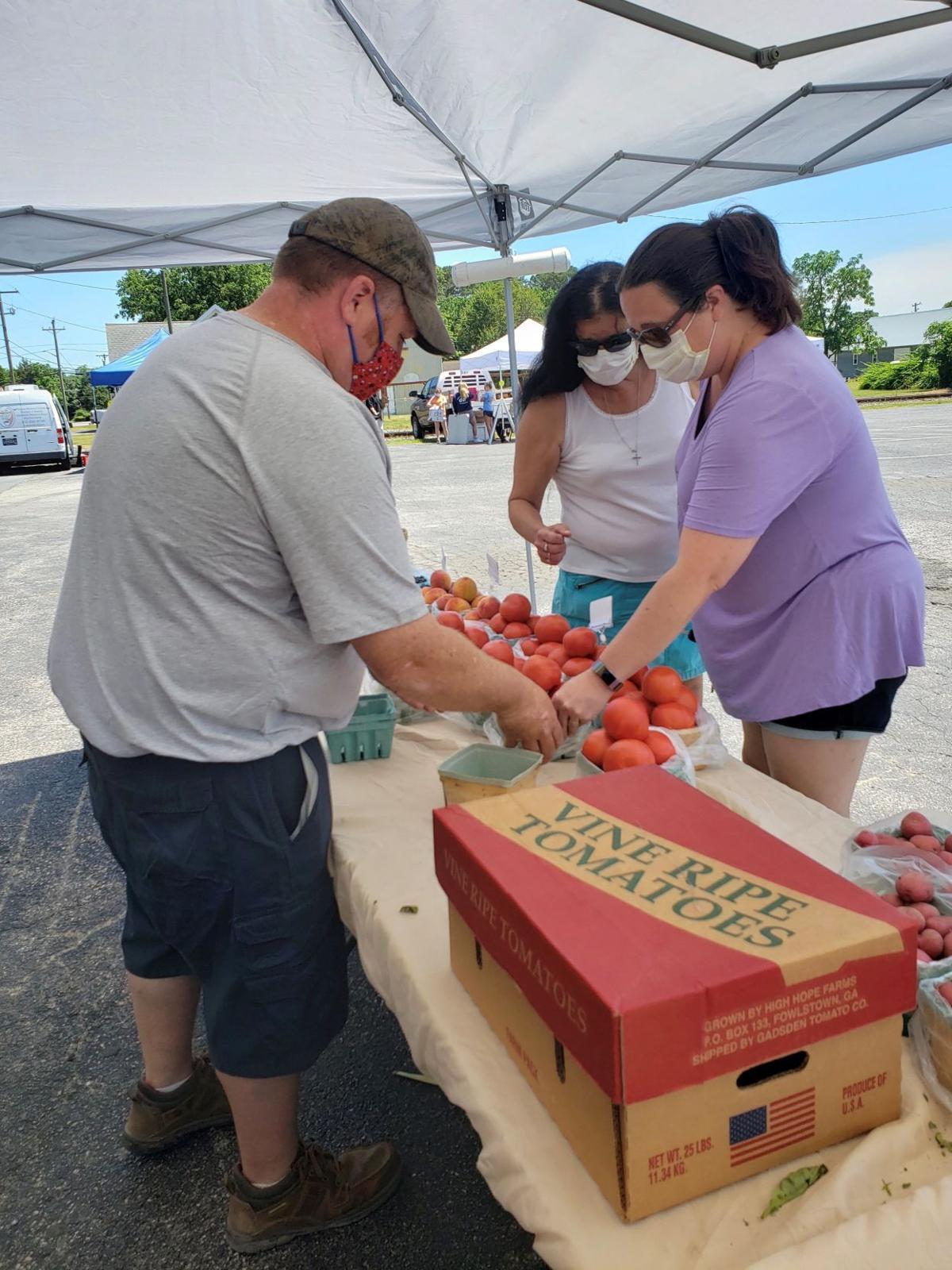 Millsboro Farmers' Market, Atkins Produce