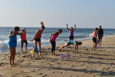 Fitness Craze SB beach boot camp